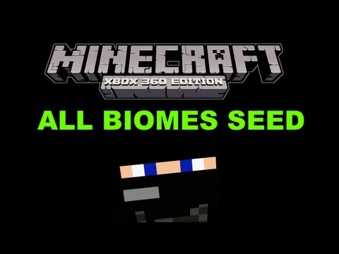 Minecraft Xbox 360(2013)-TU12+13 Seed!: All Biomes/3 Villages (Jungle/Mushroom/Snow/Forest/Desert)