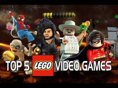 Top 5 Best LEGO Video Games!