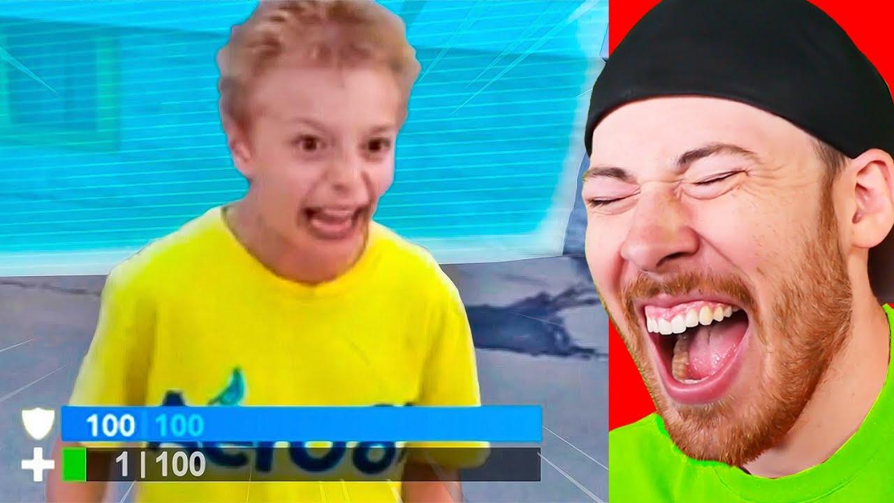 You LAUGH = You DELETE Fortnite Challenge