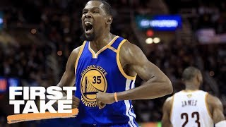 good durant or bad lebron first take june 8 2017