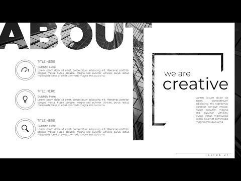 Professional Multipurpose Business Portfolio Advertising PowerPoint Presentation Slide Tutorial