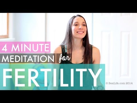 Meditation for Fertility, Infertility, Adoption - How to Meditate for Beginners - BEXLIFE