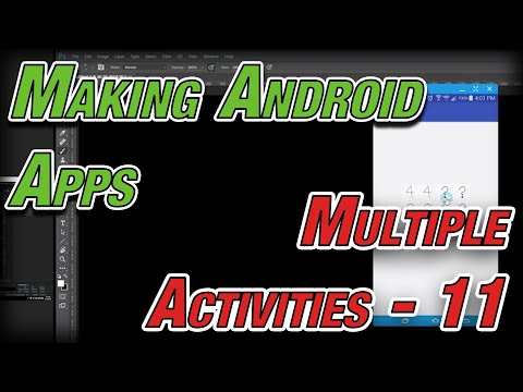 Making Android Apps - 11 - Memory Game Activities