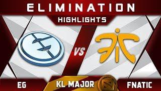 EG vs Fnatic [GREAT GAME] Kuala Lumpur Major KL Major Highlights Dota 2