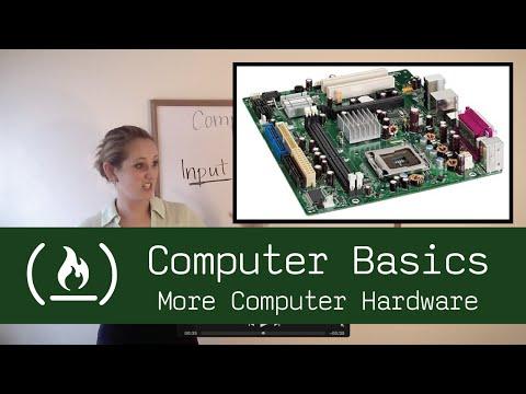 Computer Basics 2: More Computer Hardware