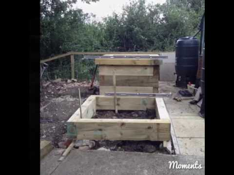 How to build Raised Vegetable Bed quad, Claystacker. 🌽🍆🍅🍓 .