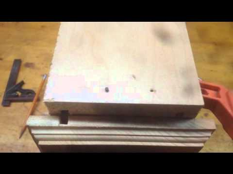How to make a drawer front