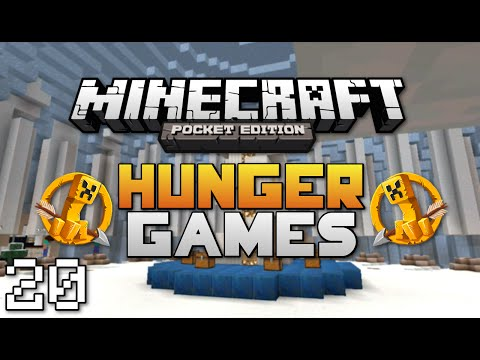 Minecraft: Pocket Edition Hunger Games #20   w/ AceCraftGaming