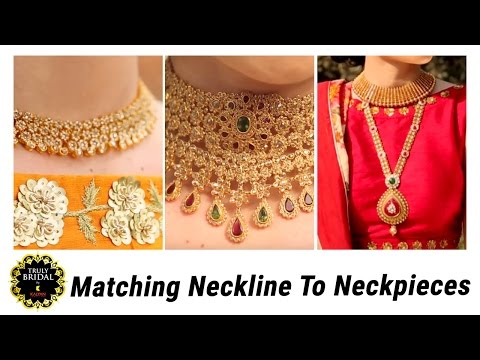 Bridal Jewelry Guide | Neckline Matching Necklace | Fashionable Tips | Bridal Collection