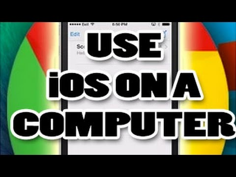 Using an iPhone (or iPad/iPod Touch) on a Computer (Windows/Mac/Linux) with Veency/Reflector