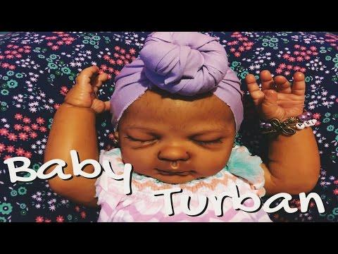 Reborn Baby Turban Tutorial