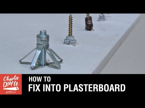 How to fix into Plasterboard - Video #1