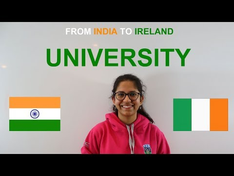 1/5 - From India to Ireland:  Selecting a University & Course