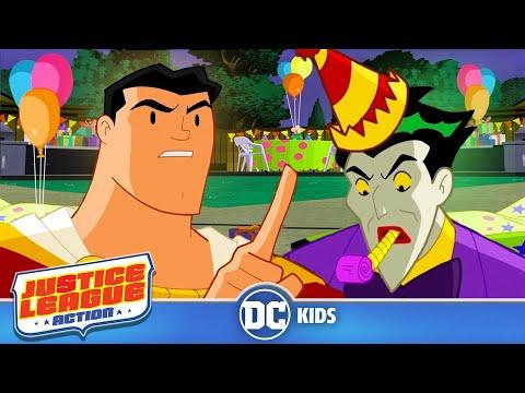 Justice League Action |Clown Party | Episode 22