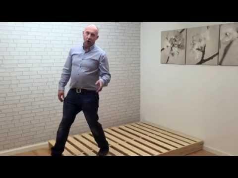 Shiki Low Futon Bed - funky futon