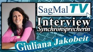 Sagmaltv // Interview: Synchronsprecherin Giuliana Jakobeit