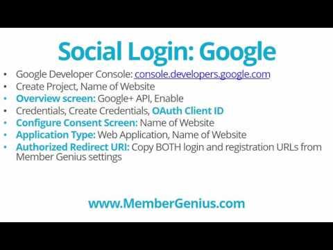 Add Social Login (Facebook and Google) to Your WordPress Membership Site Using Member Genius