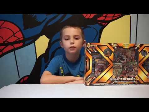 Pokemon TCG Mega Camerupt EX Box opening! 2 EX Epic Pulls!