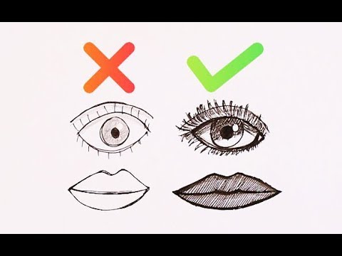 DO & DON'T How to Draw Easy Step by Step  Art Drawing Tutorial For Kids