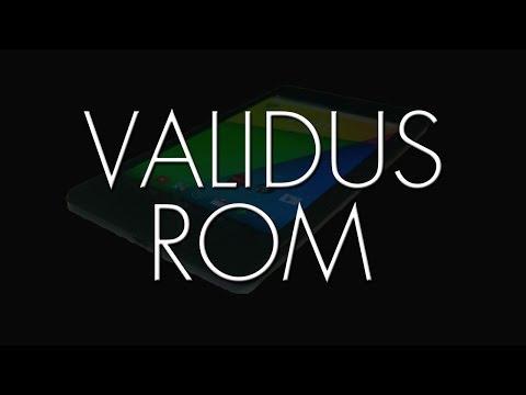 Nexus 7 (2013) ROMS in a FLASH (Validus ROM)