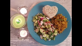 Healthy Dinner For Weight Loss Part 1 English/Bangla Simple and Easy