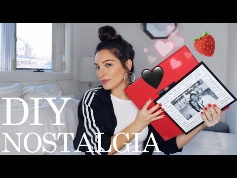 What to Get Your Boyfriend for Valentines Day   DIY gifts nostalgia