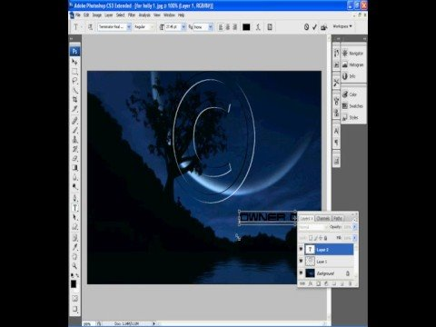Copyright in Photoshop