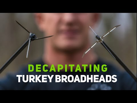 Proper Tuning Steps for GIANT DECAPITATING TURKEY BROADHEADS  Bowmar Bowhunting  
