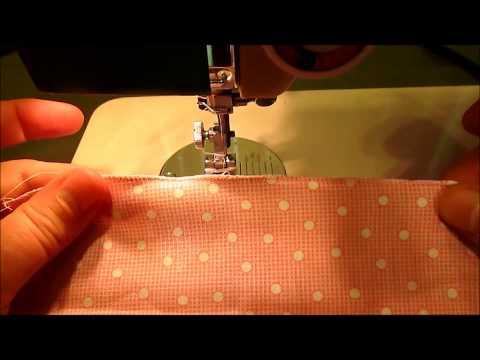 Mock Rolled Hem 2 Ways - Using Sewing Machine Tutorial