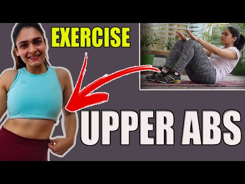 3 Best Upper Abs Workout for women Hindi || How To Reduce Belly Fat|| Get Flat Stomach fast and easy
