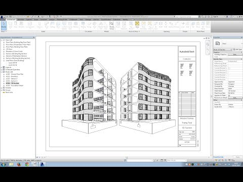 Creating a complex roof using massing tools in Revit.