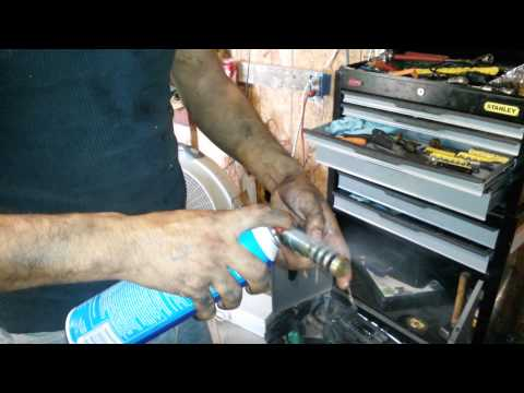 How to clean the camshaft in a trailblazer #2