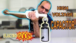 Make a SUPER HIGH VOLTAGE Capacitor