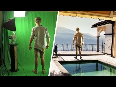 Green Screen Test - The Balcony (VFX Breakdown)