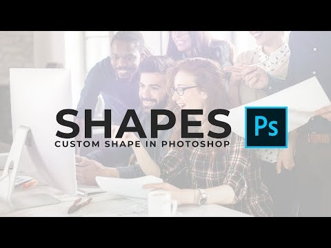 How To Create Custom Shapes In Photoshop