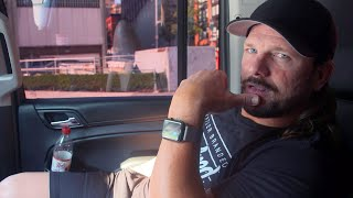 AJ Styles arrives in Brooklyn after getting some important advice from his wife: SummerSlam Diary