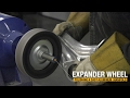 How to Polish a Cast Aluminum Manifold by Using an Expander Wheel - Eastwood