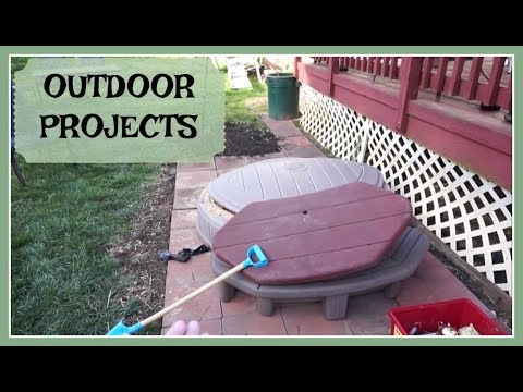 Outdoor projects (March 18, 2018) Vlog