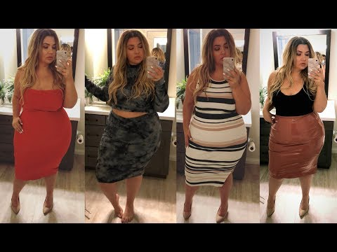 PLUS SIZE FASHION TRY ON HAUL | This is kind of a mess... FASHION NOVA | Sometimes Glam