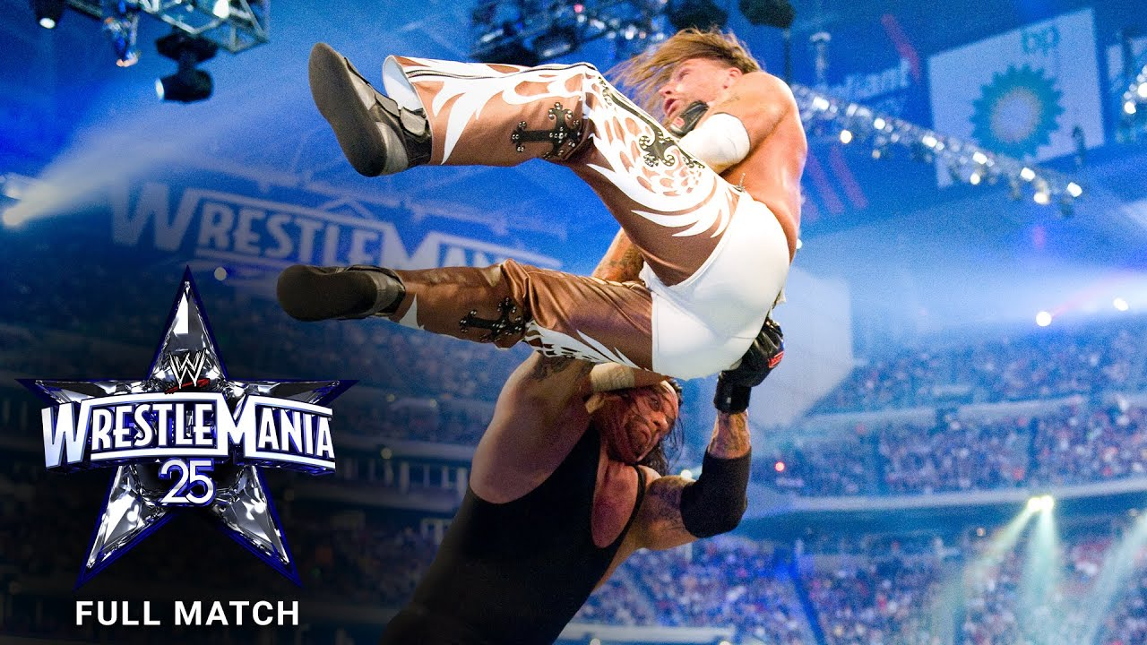 FULL MATCH - Undertaker vs. Shawn Michaels: WrestleMania XXV