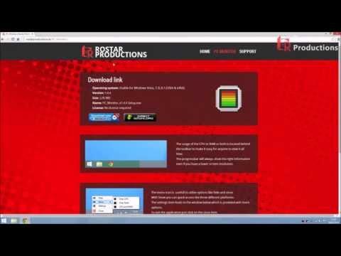 PC Monitor (CPU and/or RAM in taskbar)