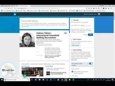How To Change Your LinkedIn URL - Claim Your LinkedIn Vanity URL