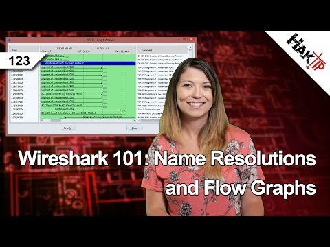 Wireshark 101: Name Resolutions and Flow Graphs, HakTip 123