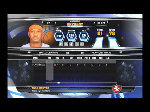 NBA 2K14 Official Roster Update 12/6/13 + Stats Inc Hot and Cold Streaks + Download Link + HD Video