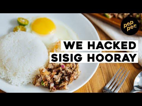 Food Hack: Sisig Hooray