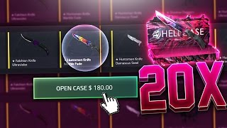 20 x Spectrum Knife *ONLY* Case Opening