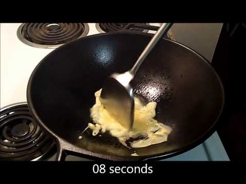 2 Eggs Fried in 27 Seconds