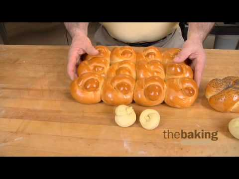 Knot Roll & Placek using Challah Bread Mix