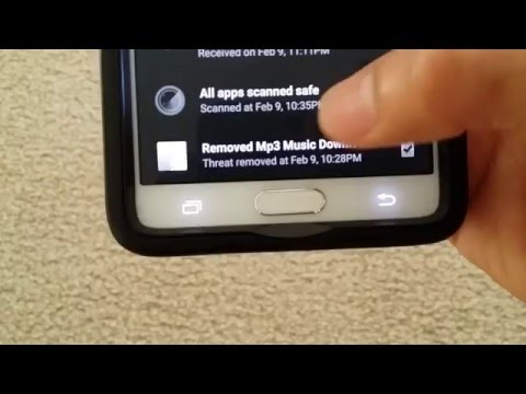 How To Get Rid Of Annoying Spam Anti-Virus Advertise on your Android Device for FREE!