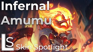 Infernal Amumu - Skin Spotlight - League of Legends